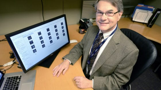 Fred Prior, Ph.D., is principal investigator for The Cancer Imaging Archive.