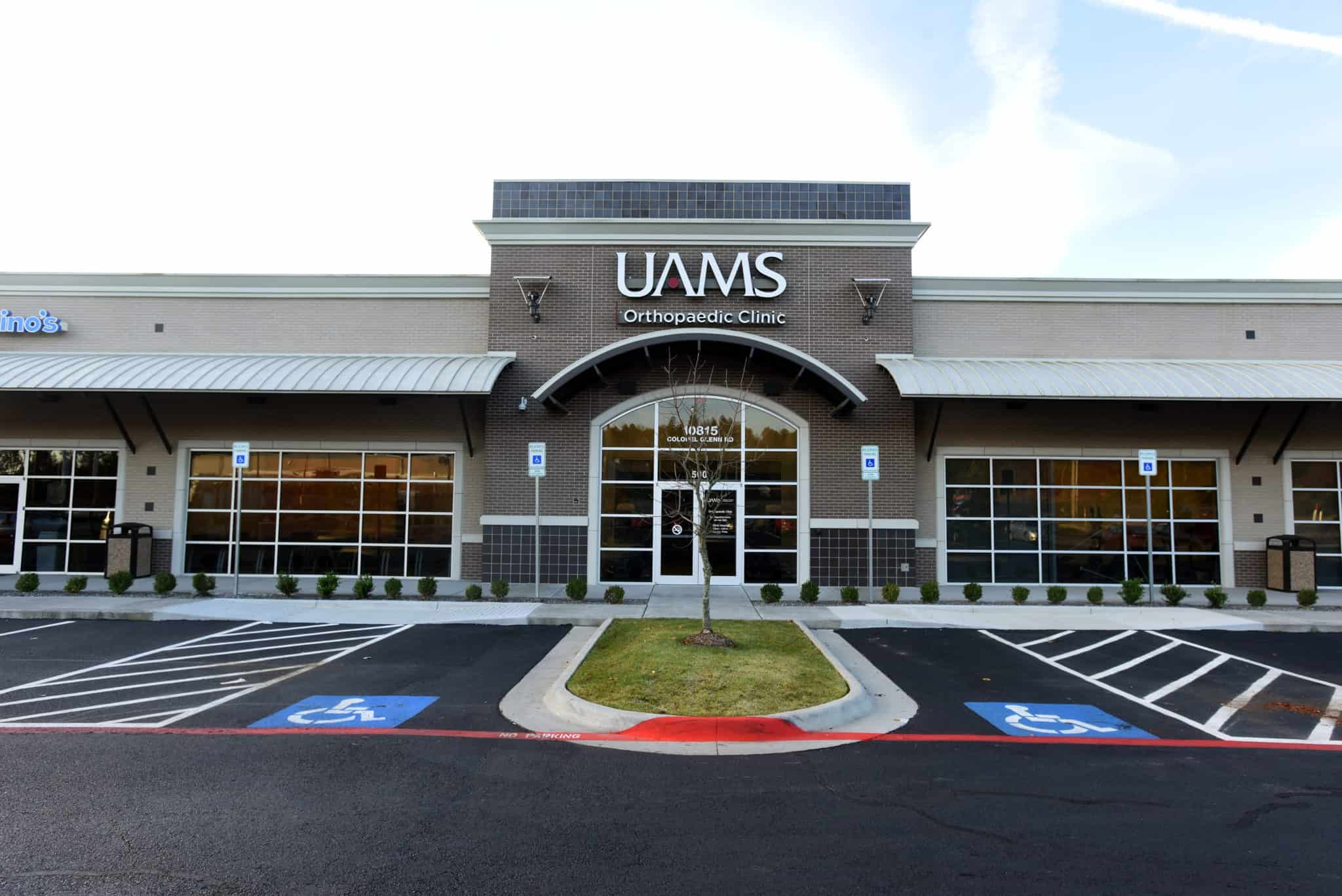 At the UAMS Health Back and Neck Clinic, patients receive team-based care from both a physical therapist and a doctor who specialize in spine and sports injuries. The clinic is located at 10815 Colonel Glenn Road in Little Rock.