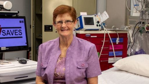 Freda Dodd of Marmaduke is one of thousands of stroke survivors treated through the Institute for Digital Health & Innovation's Stroke Program.