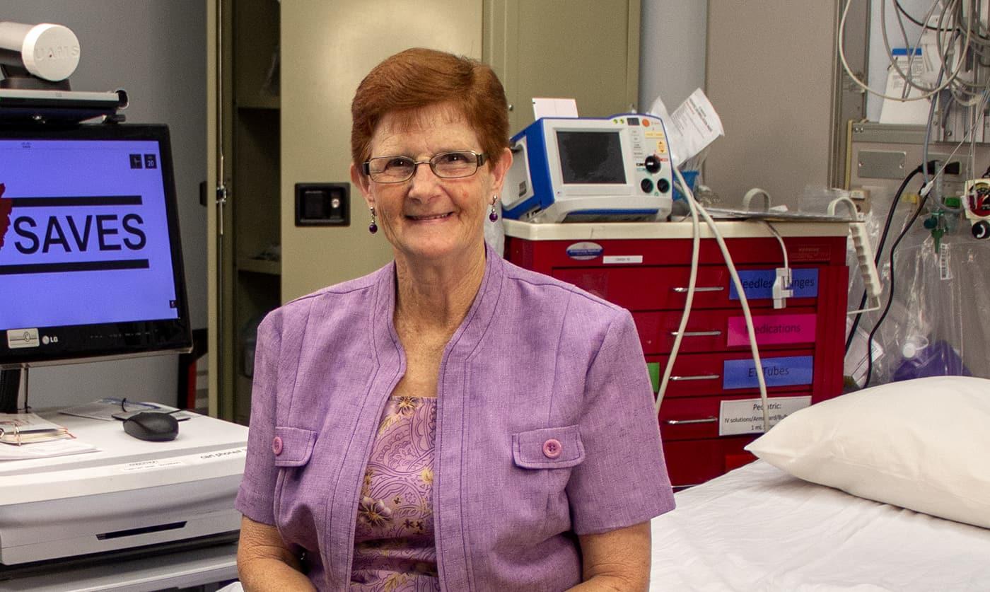 Freda Dodd of Marmaduke is one of thousands of stroke survivors treated through the Institute for Digital Health & Innovation's Stroke Program.