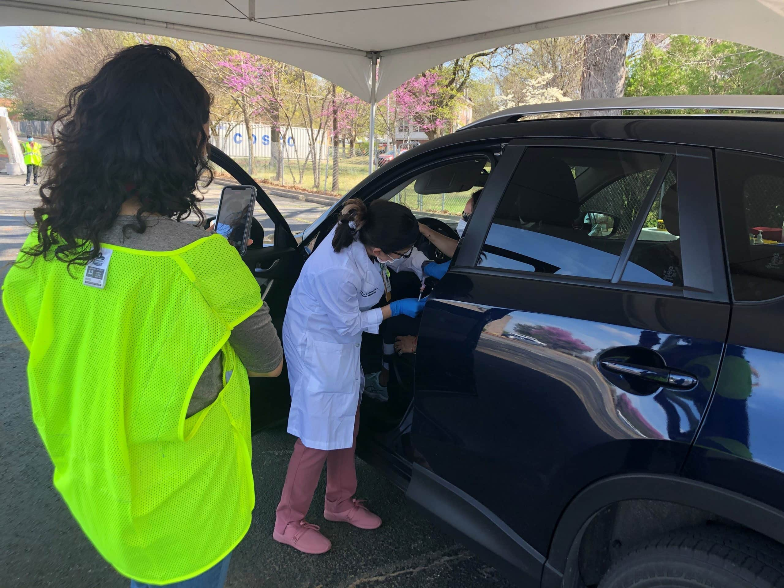 Northwest Arkansas COVID-19 Vaccine Drive-Thru