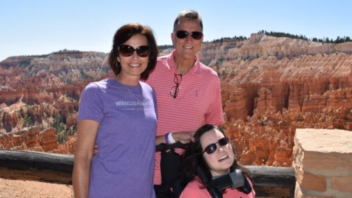 Jim, Patti and Mary Drake at the Grand Canyon during their 14-day road trip. (Photo courtesy of the Drakes)