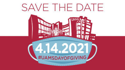 The UAMS Day of Giving will last 24 hours beginning April 14.