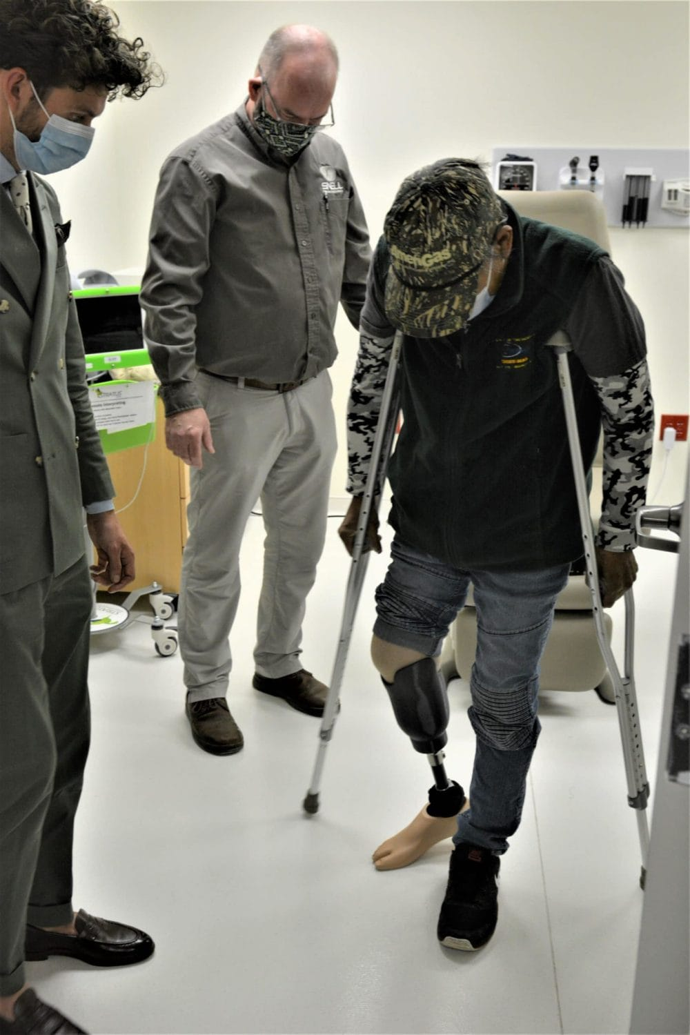 1st steps on new prothesis
