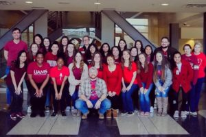 Members of the UAMS Chapter of the Academy of Student Pharmacists