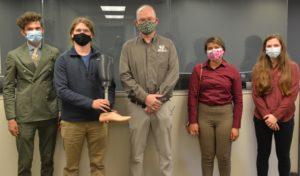 Greg Johnson and UA biomedical engineering students