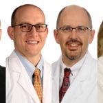 David Bumpass, M.D., Steve Cherney, M.D., Simon Mears, M.D., Ph.D., and Theresa Wyrick, M.D.