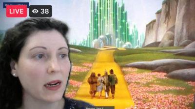 Sara Peeples, M.D., helps moderate the virtual NICU Reunion.