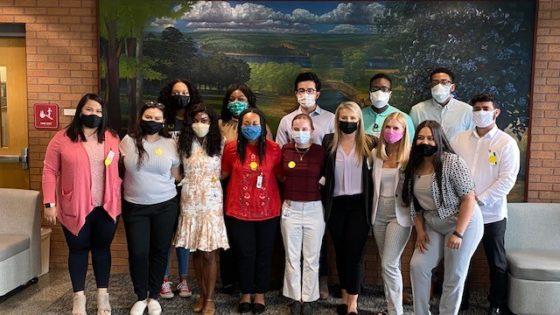 Fourteen of the 15 Public Health Scholars.