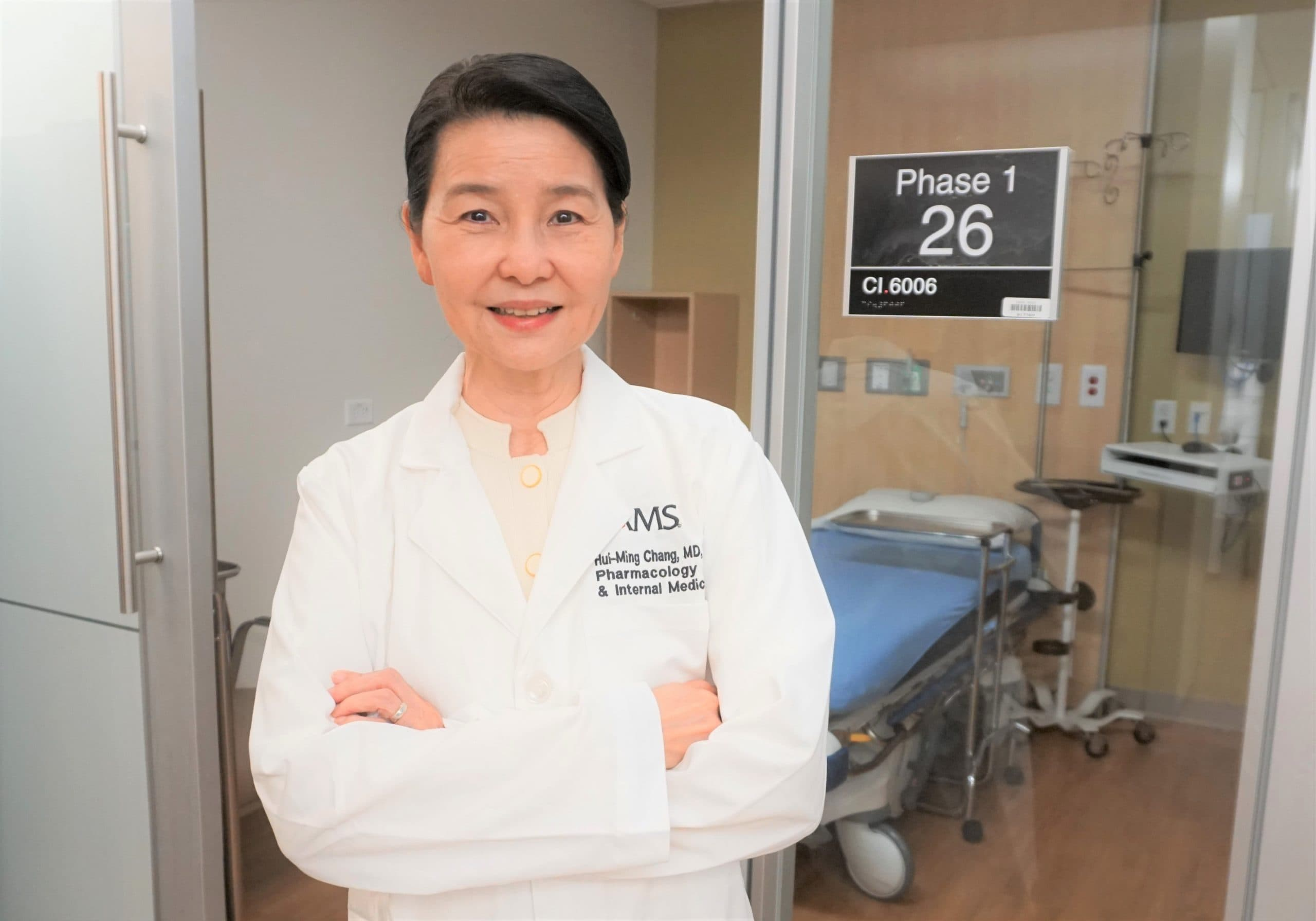 UAMS' Hui-Ming Chang, M.D., is leading the Phoenix Trial.