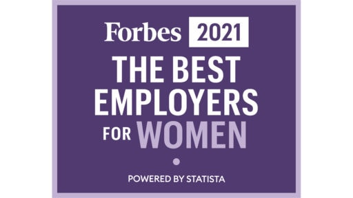 Forbes Best Employers logo