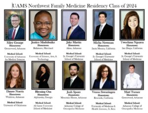 UAMS Family Medicine Residents Class of 2024