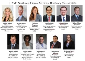 UAMS Internal Medicine Residents Class of 2024