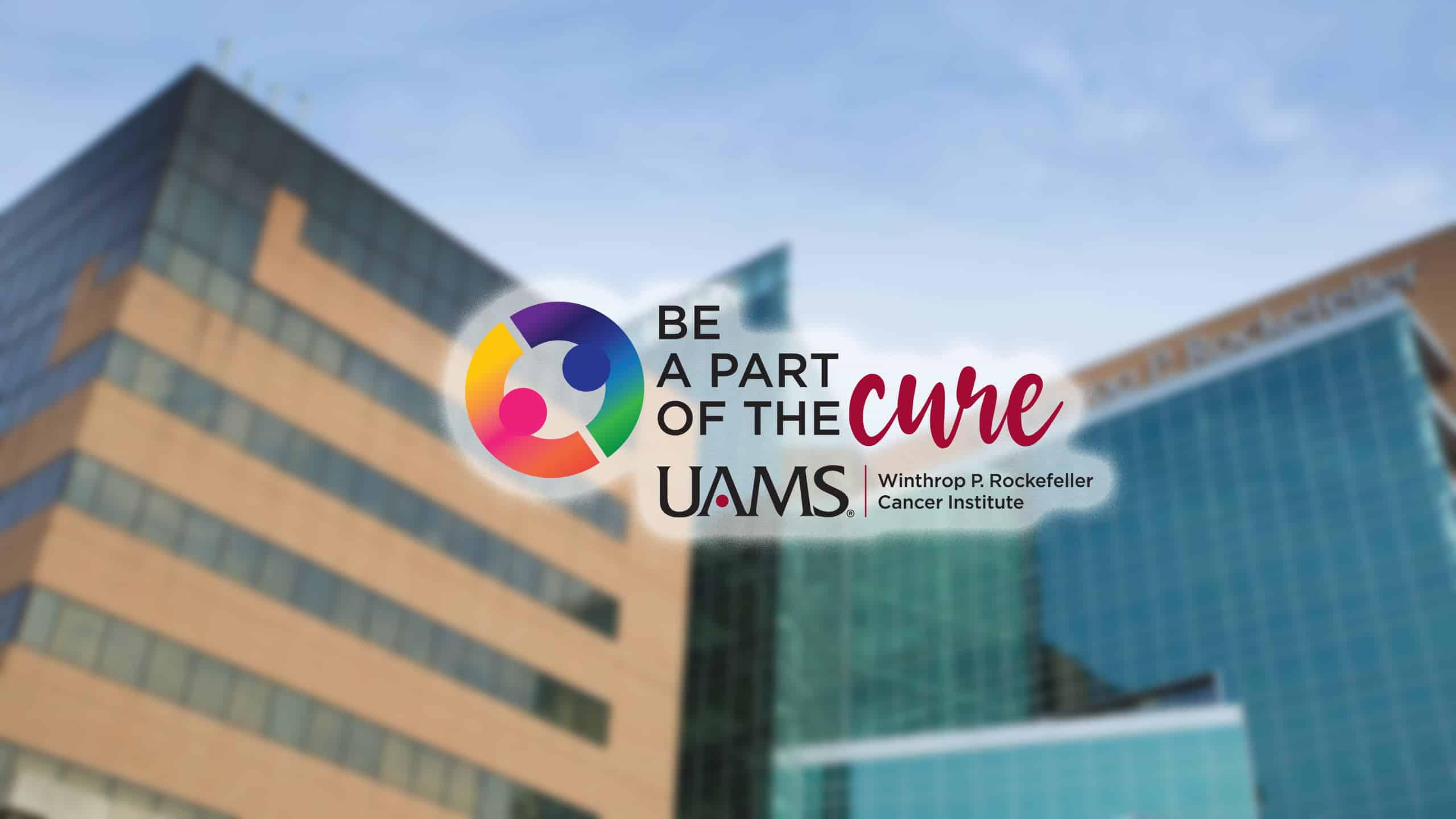 """""""Be A Part of The Cure"""" and text or call in your donation in support of our cancer research efforts."""