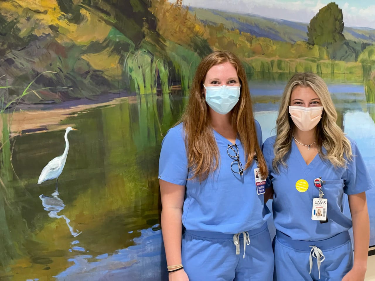Paige Dailey, M.D., and Morgan Sweere