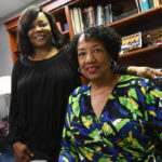 Seen here in early 2019, Mildred Randolph, DVM, seated, is director of SEED at UAMS and Marlo Thomas, standing, is the program's coordinator.