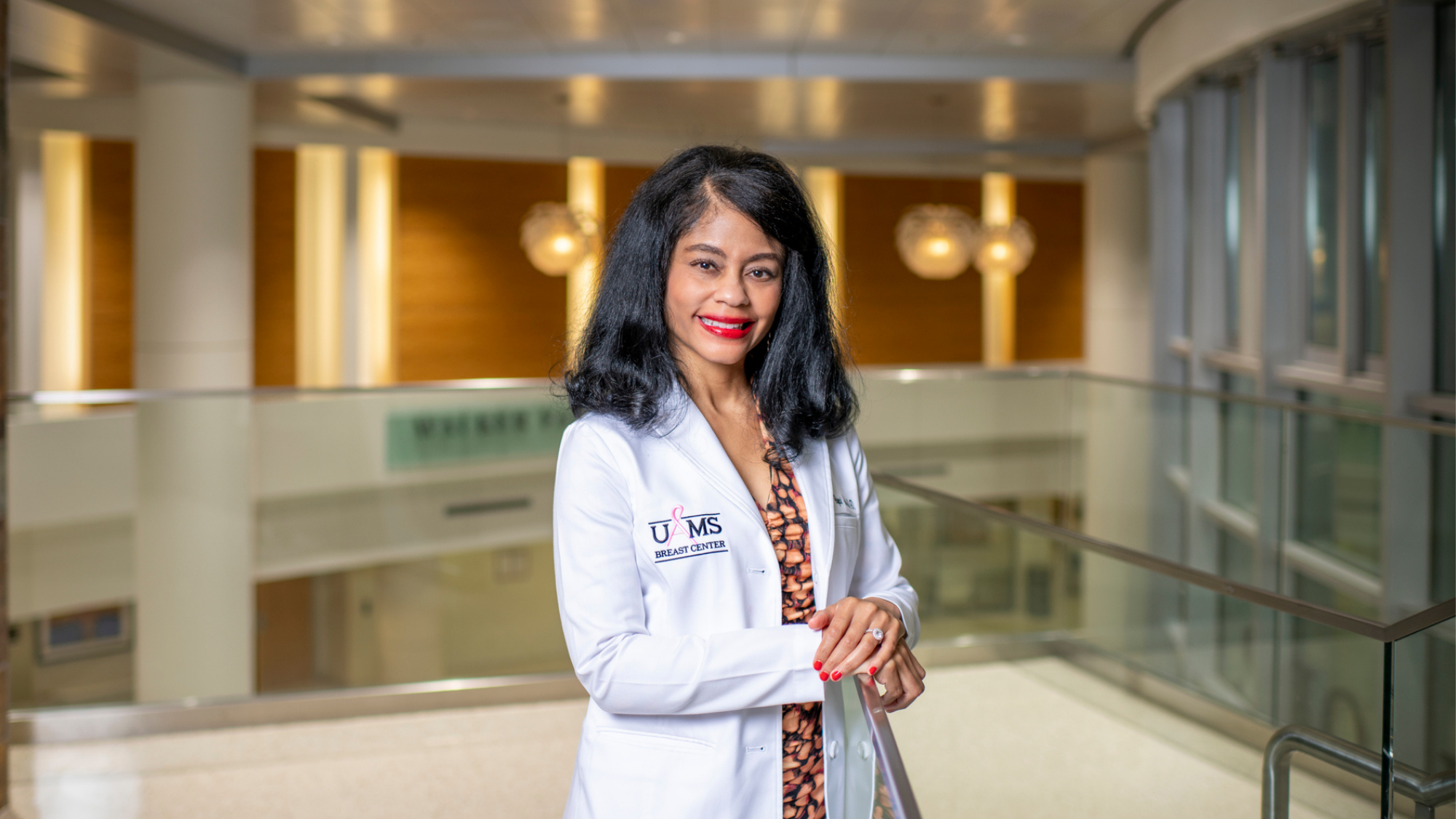 Breast Center Director Gwendolyn Bryant-Smith, M.D., is leading the Cancer Institute's participation in a national mammography clinical trial.